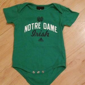Notre Dame Irish Onseie